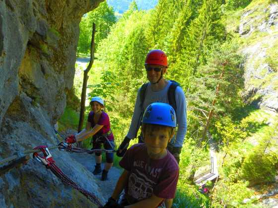 Klettersteig Fall : Sicher auf klettersteigen alpenverein